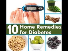 10 Home Remedies For Diabetes That Really Work!
