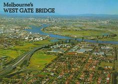 Westgate Bridge, Melbourne Melbourne Victoria, Victoria Australia, St Kilda, Tasmania, Historical Photos, Old Photos, City Photo, Bridge, History
