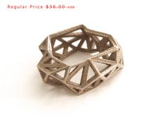 Hey, I found this really awesome Etsy listing at https://www.etsy.com/listing/125299440/sale-geometric-ring-triangulated-ring-in