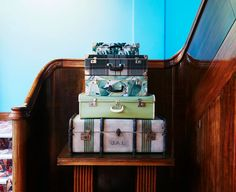 by Sibella Court Art Deco, Projects, House, Hospitality, Space, Home Decor, Staircases, Suitcase, Log Projects