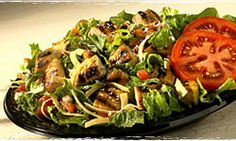 Baja Fresh, Baja Ensalada with Chicken. want shrimp. toss out the tortilla chips and cheese and you've totally got yourself a winner! Good thing there is a Baja Fresh across the street! Best Restaurant Salads, Restaurant Recipes, Popeye Olive Oyl, Clean Eating, Healthy Eating, Mexican Food Recipes, Ethnic Recipes, Eat Smart, Good Fats