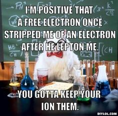Chemistry Cat...the fact that I now understand these and find them infinitely funny