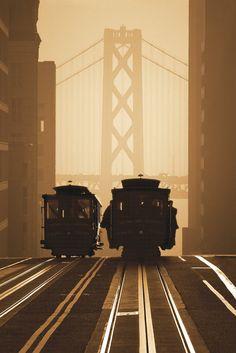 Tram, San Francisco, CA, USA