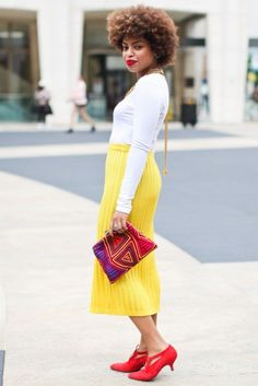 """Essence Magazine Street Style (NYFW SS13) 