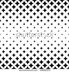 Black and white abstract polygon pattern background
