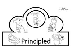 IB  PYP  Learner Profile Crowns:  This is an incredible set of differentiated crowns of IB PYP Learner Profile IB traits. One set features depictions for students to color (younger students) and discuss, while the other set features the blank labeled crown. Students can record illustrations, record a definition of the IB traits or plan an action cycle related to the IB traits.