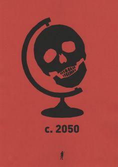 Keo Pierron...skull globe