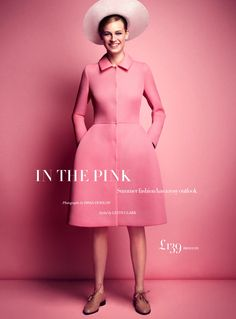 fashion editorials, shows, campaigns & more!: in the pink: paulina heiler by dima hohlov for uk harper's bazaar august 2013 Pink Fashion, Fashion Beauty, Fashion Show, Fashion Design, Colorful Fashion, Vintage Fashion, Rodney Smith, Everything Pink, Pink Summer
