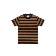 Buco Stripe Tee BC18002-053 Black/Brown
