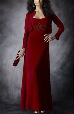 Sheath Reds Sweetheart Floor-length Mother Of The Bride Dresses