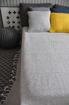 cotton bedcover, woven throws /bawełniane narzuty, tkane pledy