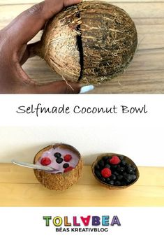 Selfmade Coconut Bowl = Recycling + Zero Waste! #upcycling #recycling