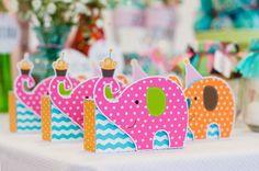 Caixinhas para chocolate Batom - Elephant party Desenvolvido por Vida Festeira  Foto: Gilson Silva