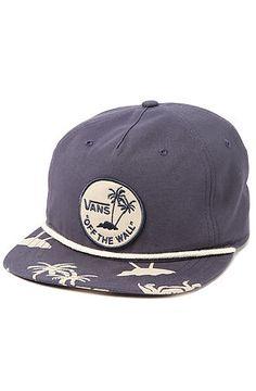 Vans Hat Uno Mas in Navy