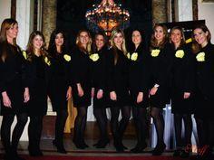 Nuestras preciosas chicas en la ceremonia de entrega de premios al emprendedor del año por Ernest & Young -  Casino de Madrid