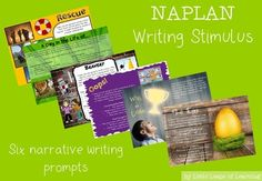 Help your students prepare for NAPLAN! Writing stimulus for narrative in the NAPLAN format. Narrative Writing Prompts, 6 Class, Primary Teaching, Story Starters, Win Or Lose, Year 2, Grade 2, Writing Activities, Creative Writing