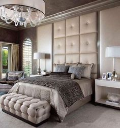 Minimalist Decor 46 Amazing Luxury Champagne Bedroom Ideas With Elegant Style.Minimalist Decor 46 Amazing Luxury Champagne Bedroom Ideas With Elegant Style Beautiful Bedrooms, Luxury Bedroom Design, Home Bedroom, Luxurious Bedrooms, Home Decor, House Interior, Small Bedroom, Champagne Bedroom, Rustic Bedroom