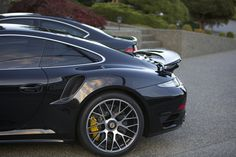 Jet Black Metallic 911 Turbo S & Obsidian Black C63 AMG (507)