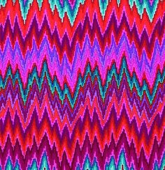 Kaffe Fassett Spring 2013-Flame Stripe-Red