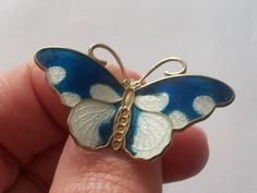 Fine sterling silver 925 gilt Norway enamel butterfly brooch  in Jewellery & Watches, Vintage & Antique Jewellery, Vintage Fine Jewellery | eBay!