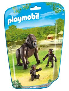 Amazon.de: PLAYMOBIL 6639 - Gorilla with babies: toys