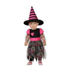 Disfraz de Bruja Corazón Bebé #disfraces #halloween