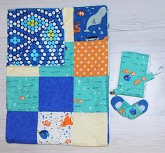 Ready to Ship  Disney Finding Dory Baby Quilt Newborn Gift