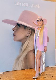 """Lady Gaga attends a photocall for her album """"Joanne"""" at the The Ritz-Carlton Tokyo in Japan on November 2, 2016"""
