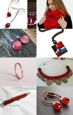 Pink and red by Melinda on Etsy--Pinned with TreasuryPin.com