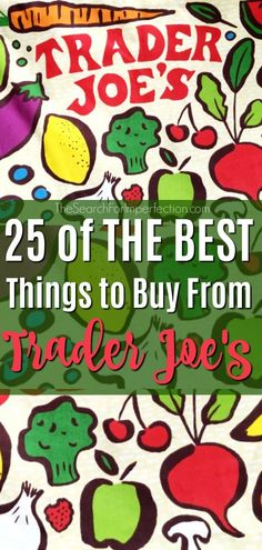 is the ultimate list of the best things to buy from Trader Joe's!This is the ultimate list of the best things to buy from Trader Joe's! Healthy Snacks To Buy, Healthy Shopping, Healthy Eating, Healthy Meals, Healthy Food, Clean Eating, Yummy Food, Trader Joe's Prices, Best Trader Joes Products