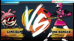 Lincoln Loud VS Pink Ranger In A Nickelodeon Super Brawl World Brawlville PVP Mode Match / Battle This video showcases Gameplay of Lincoln Loud From The Loud House Series VS The Pink Ranger From The Power Rangers Series In A Nickelodeon Super Brawl World Brawlville PVP Mode Match / Battle / Fight