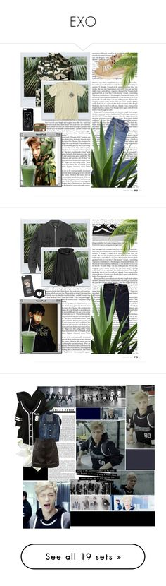 """EXO"" by tylaticklemouse ❤ liked on Polyvore featuring men's fashion, menswear, LE3NO, Aéropostale, Givenchy, Acne Studios, H&M, Beats by Dr. Dre, WearAll and Pierre Balmain"