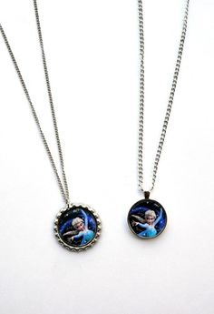 Disney Frozen inspired Elsa Let it go Necklaces Double Sided Let it Go | Spearcraft - Jewelry on ArtFire