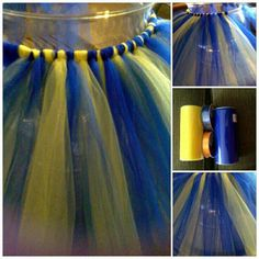 School colors tutu.. Why don't mine look like this?