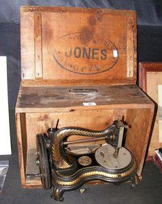 """""""Jones"""" Hand Sewing Machine..."""