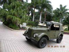 972 Gaz Uaz 69 A Russian Soviet Army Jeep