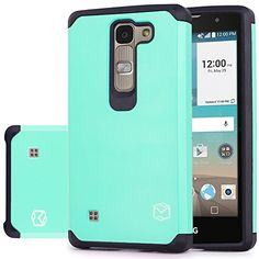 LG Escape 2 Case, MP-Mall [Dual Layer] [Shockproof] Armor...