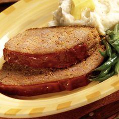 Slow Cooker Meatloaf. My favorite meal from Bob Evans