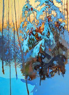David Lidbetter . Зимний пейзаж.. Обсуждение на LiveInternet - Российский Сервис Онлайн-Дневников #LandscapeArtists