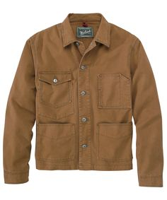 c9394b9418 Men s Centerpost Chore Coat - Woolrich Canvas Jacket