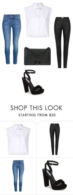 """day o night"" by juliadb on Polyvore featuring Helmut Lang, H&M, Steve Madden and Chanel"
