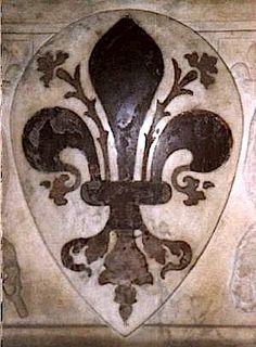 The Florentine fleur-de-lys (Museo del Opera del Duomo, Florence). (photo © F. Velde)