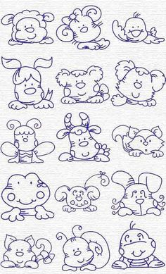 Free Embroidery Designs, Sweet Embroidery, Designs Index Page. This reminds me of the things mom made for me when I was little. animals silly animals animal mashups animal printables majestic animals animals and pets funny hilarious animal Embroidery Designs, Embroidery Applique, Cross Stitch Embroidery, Machine Embroidery, Colouring Pages, Coloring Books, Applique Patterns, Doodle Art, Needlework