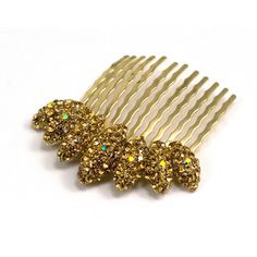 """The Almond Cluster Crystal Comb is our best-selling +mostpopular hair comb due to its versatility! This particular hair comblooks bestin ahalf-up hairstyle. We highly recommend using two combs to create a half-up hairstyle. You can also just use one comb to create a side-swept hairstyle. Flat comb base Product Dimensions: Approximately 2.1"""" x 2.1"""" Sold as 1 piece Crystal Color Chart Popular Hairstyles, Up Hairstyles, Soho Style, Smokey Topaz, Amazing Transformations, Half Up, Brides And Bridesmaids, Red Purple, Hair Hacks"""