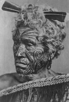 MāoriTāMoko face marking was a sacred practice among the indigenous tribes of New Zealand. Each moko design was unique to each individual, (no two designs were ever the same as they were never duplicated) and signified a young man's transition from childhood to manhood. As well as representing rank and status these marks also had significant meaning to the wearer, symbolically connecting them to their ancestors and lineage.