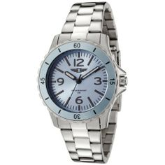 I By Invicta Women's 89051-002 Stainless Steel Watch Invicta. $58.99. Precise Japanese-quartz movement. Second hand. Blue dial with black hands, hour markers and arabic numerals; luminous; blue unidirectional bezel. Water-resistant to 165 feet (50 M). Durable mineral crystal; brushed and polished stainless steel case and bracelet. Save 87%!