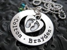 Personalized Jewelry  Mommy Necklace  Personalized by BragAboutIt, $74.00