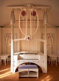 Music room by Charles Rennie Mackintosh