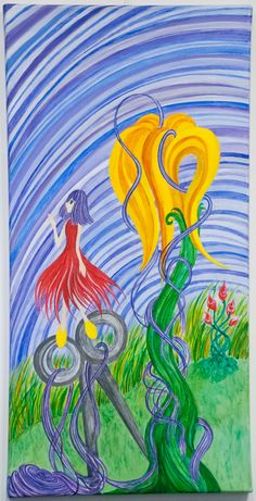 Luz Scalet // Hermana A - No a la venta - Acrílico 40 x 80 cm Exposición y Venta hasta el 28 de Octubre 2015 en Juana de Arte Galería. Av Santa Fe 2111 - Martínez Bs As. de Lunes a Viernes de 10 a 13 y de 15 a 20 hs - Sábados de 10 a 14 hs