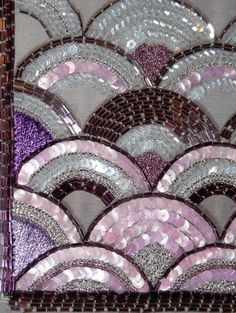 Royal School of Needlework, Bead Embroidery Zardosi Embroidery, Tambour Embroidery, Hand Work Embroidery, Couture Embroidery, Embroidery Fashion, Hand Embroidery Designs, Ribbon Embroidery, Embroidery Stitches, Embroidery Patterns